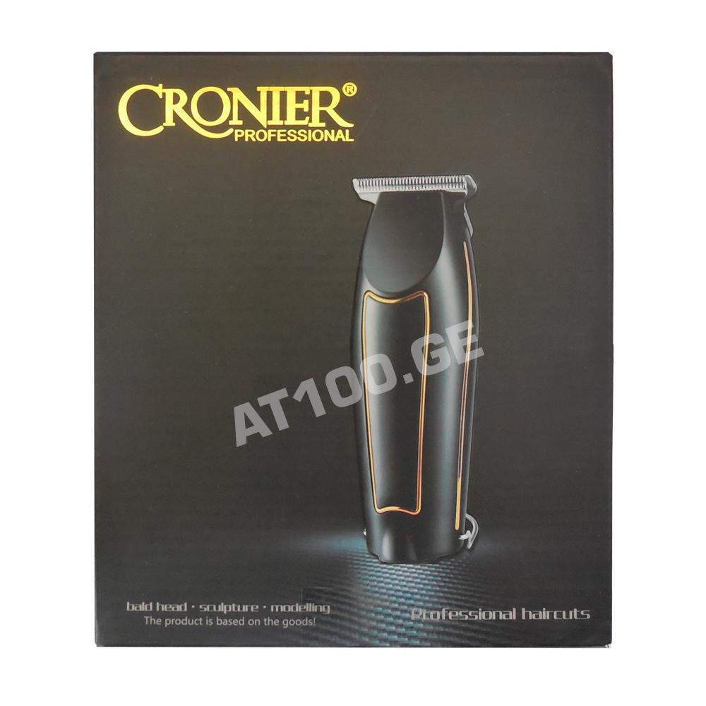 თმის და წვერის საკრეჭი CRONIER 9220A