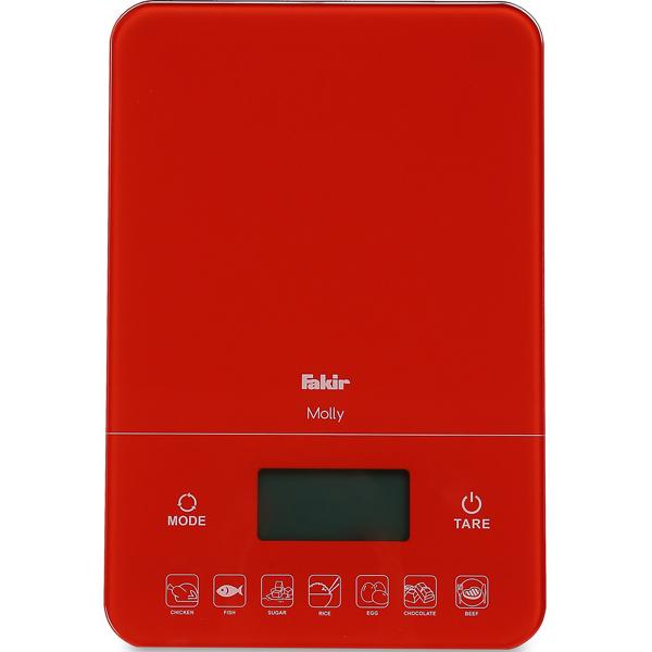 სამზარეულოს სასწორი fakir molly-red